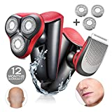 Electric Shaver Razor For Men Easy Head Shaver WMARK Beard Trimmers...