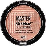 Maybelline Facestudio Master Chrome Metallic Highlighter, Molten Rose Gold, 0.24 oz.