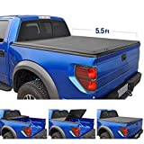 Tyger Auto T3 Tri-Fold Truck Tonneau Cover TG-BC3F1041 Works with 2015-2019 Ford F-150 | Styleside 5.5' Bed