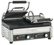 Waring-Commercial-WPG300-Panini-Tostato-Ottimo-Dual-Italian-Style-grooved-Grills-240-volt