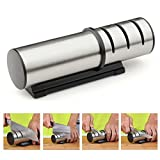 Knife Sharpener for Straight 2 and 3 Stage Shears and Scissors Sharpening System (3 Stage)