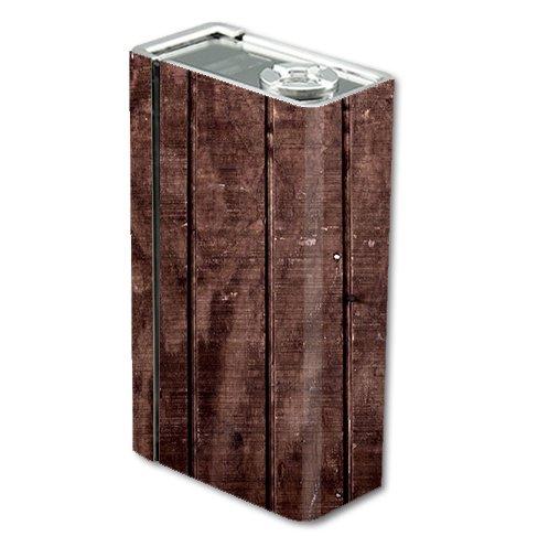 Skin Decal Vinyl Wrap for Smok Xcube 2 BT50 Vape Mod Box / Wood Floor