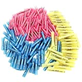 218PCS Heat Shrink Butt Connectors, Sopoby Electrical Butt Connectors Waterproof Crimp Connector Kit Insulated Marine Automotive Wire Terminals 22-10GA (100Red 70Blue 48Yellow)