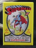 Superman #1 Comic Book Cover - Refrigerator Magnet.