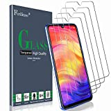 Ferilinso Screen Protector for Xiaomi Redmi 7/ Note 7/ Note 7 Pro,[4 Pack] Tempered Glass Screen Protector with Lifetime Replacement Warranty