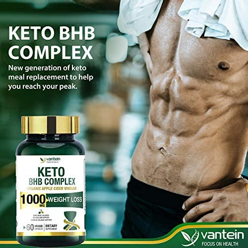 Keto Pills, 60 Capsules Fat Burner & Weight Loss BHB Supplement Formula Keto Burn Diet Pills, Women Men Appetite Suppressant Increases Energy Support, 30 Day Supply 5