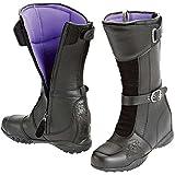 Joe Rocket Heartbreaker Women's Boots (Black, Size 7)