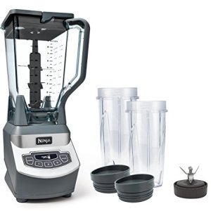 Ninja Professional Countertop Blender with 1100-Watt Base, 72 Oz Total Crushing Pitcher and (2) 16 Oz Cups for Frozen… 2