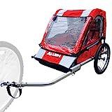 Allen Sports Deluxe Steel 2-Child Bicycle Trailer, Model AST2