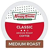 Krispy Kreme Doughnuts Smooth/Classic Coffee, Single Serve K-Cup Pod, 72- Count, Packaging May Vary