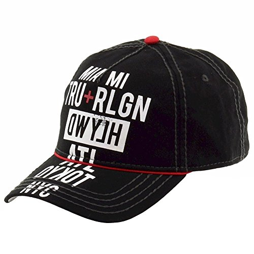51oZlgGTZzL 5-panel baseball cap Jockey crown with pre-curved visor Genuine leather blackstrap
