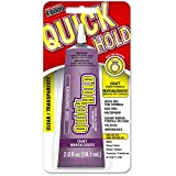 QuickHOLD 380722 Quick Dry Adhesive, All-purpose, 2.0 Fluid Ounces, Clear