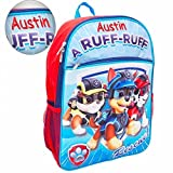 Personalized Paw Patrol 3D Molded Backpack