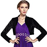 Product review for Medeshe Women's Long Sleeved Bolero Shrug Top Outwear Jacket Coat Cardigan