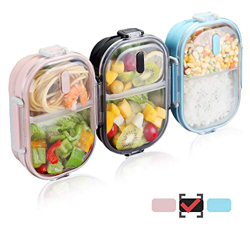 WORTHBUY 2 Compartments Lunch Box