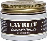 Layrite Superhold Pomade, 1.5 oz.