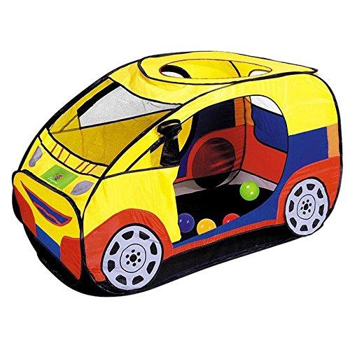 ileadon kids car play tent indooroutdoor children portable pop up play housetents toy for 1 8 years old boysgirlstoddlersbabiesinfants
