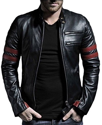 Laverapelle Men's Genuine Lambskin Leather Jacket (Black, Racer Jacket) - 1501535 1 Fashion Online Shop Gifts for her Gifts for him womens full figure