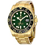 Rolex GMT Master II 18K Gold Rolex Oyster Automatic Mens Watch 116718GSO