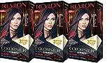 Revlon Colorsilk Buttercream Hair Dye, Vivid Violet Black, 3 Count