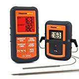 Product review for ThermoPro TP08 Wireless Remote Digital Cooking Meat Thermometer Dual Probe for Grilling Smoker BBQ Food Thermometer - Monitors Food from 300 Feet Away