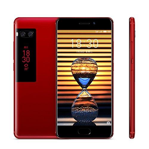 "Original Meizu Pro 7 Smartphone 4GB 64GB 5.2"" 19201080 Super AMOLED Screen Octa Core Helio P25 Dual Camera Two-sided Screen (Red)"