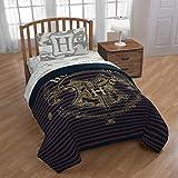Jay Franco Harry Potter Spellbound 4 Piece Twin Bed Set, Mutli