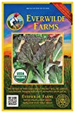 Everwilde Farms - 1000 organic Red Giant Mustard Seeds - Gold Vault Packet