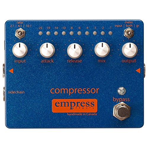 Empress Effects Compressor Analog Compression Guitar Effects Pedal