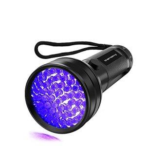 UV Flashlight Black light UV Lights , Vansky 51 LED Blacklight Pet Urine Detector For Dog/Cat Urine,Dry Stains,Bed Bug, Matching with Pet Odor Eliminator 3