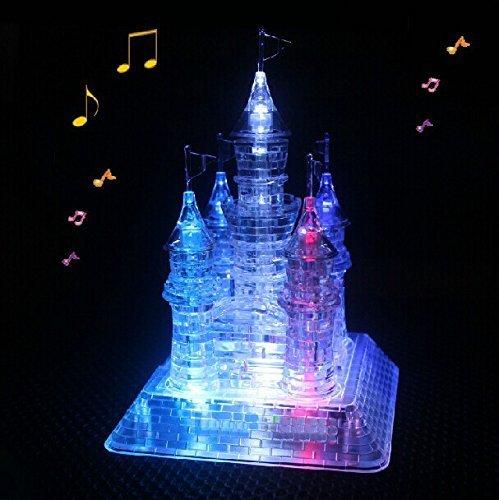 WAYCOM 3D Crystal Castle Puzzle - 3D...