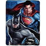 DC Comics Batman Vs Superman Plush Throw
