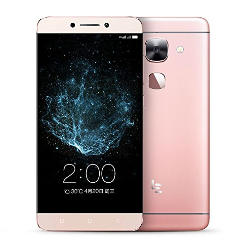 LeTV LeEco Le Max 2 X820 5.7 Inch 4G LTE Unlocked Smartphone eUI 5.6(Base on Android 6.0) RAM 4GB ROM 32GB Cell Phone Snapdragon 820 Quad Core Fingerprint Touch ID 21MP+8MP (Rose Gold)