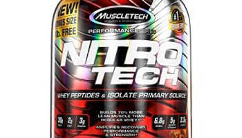 Nitrotech Whey Protein Peptides Isolate