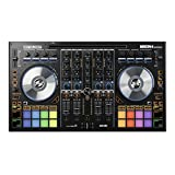 Reloop Mixon 4 High Performance 4-Channel Hybrid DJ Controller for SeratoDJ and Algoriddim Djay Pro (AMS