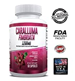 Pure Caralluma Fimbriata 1200mg Max Strength - Appetite Suppressant, Increase Fat Burn, Weight Loss Supplement, Non-Stim - for Men & Women - 1 Month