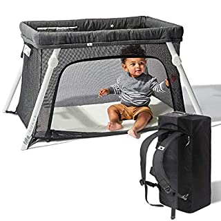 We believe life should be spent together. So we designed a crib to make it easier to do just that.    The Lotus is more than a travel crib. It's an EVERYWHERE crib. So light. So portable. It sets up in 15 seconds. Use it everywhere, everyday. At H...