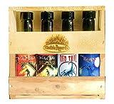 Hot Sauce Gift Set Carolina Reaper Ghost Pepper Scorpion Habanero Sauce 4 Pack