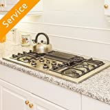 Cooktop Installation - Replacement - Natural Gas - Existing Fuel Source