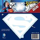 DC Comics ST SM LOGO003a Superman Logo Decal (White)