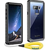 Samsung Galaxy Note 9 Waterproof Case, Temdan Heavy Duty Support Wireless Charging Full Body Shockproof Case Built in Screen Protector Underwater Waterproof Case for Samsung Note 9
