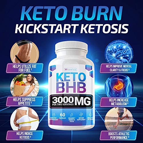 Keto Pills - (2 Pack | 120 Capsules) - 5X Potent - Advanced Keto Burn Diet Pills - Best Exogenous Ketones BHB Supplement for Women and Men - Boost Energy and Metabolism - 100% Vegan 6