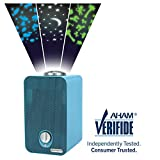 GermGuardian AC4150BLCA 4-in-1 Kids Room Air Purifier, HEPA Filter, UVC Sanitizer, Air Cleaner Traps Allergens, Pollen, Odors, Mold, Dust, Germs, Smoke, Pet Dander, Night Light Projector,Germ Guardian