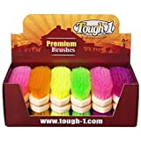 Product review for Tough-1 Soft Poly Bristle Brush Bright Colors - 12 pk. Assorted