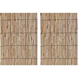 Gardman R668 Reed Fencing, 13' Long x 6' 6' High (2 Pack)