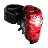 NiteRider Solas 100 Lumens USB Rechargeable Bike Tail Light Powerful Daylight Visible Bicycle LED Rear Light Easy to Install Road Mountain City Commuting Adventure Cycling Safety Flash