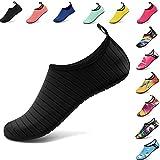 VIFUUR Water Sports Unisex/Kids Shoes Black - 7.5-8.5 W US / 6-7 M US (38-39)
