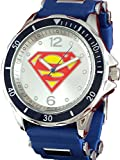 Superman Men's Blue Watch with Silver Accents SUP9090
