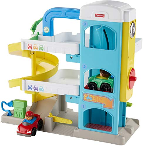 Fisher-Price Little People the Helpful Neighbor's Garage