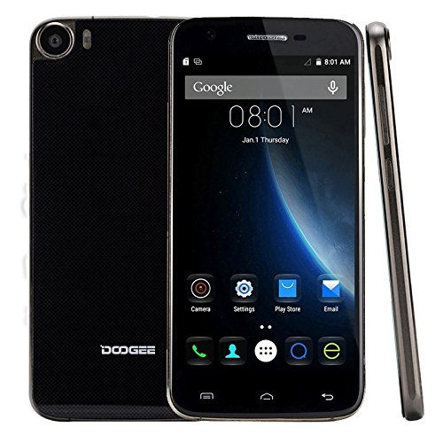 Generic DOOGEE F3 Pro 16GB, Network: 4G, 5.0 inch Android 5.1 MT6753 Octa Core 1.3GHz, RAM: 3GB(Black)